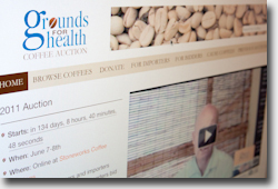 Grounds for Health Coffee Auction