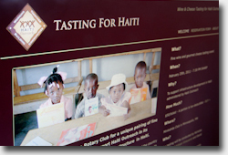 Rotary International / Tasting for Haiti